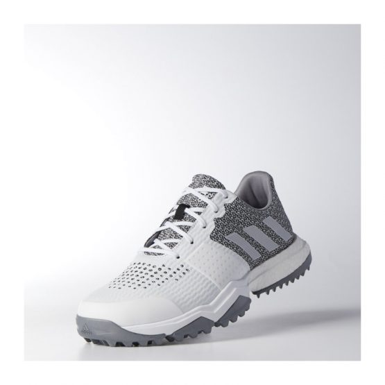 Adidas Adipower Sport Boost 3 White/Silver Metallic/Black Onix