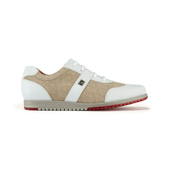 Footjoy women´s Casual Collection White/Beige